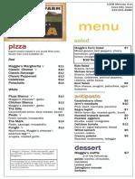 Maggie's Farm Pizza Menu - Iowa City Restaurant