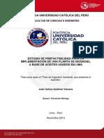 Godinez Juan Prefactibilidad Implementacion Planta Biodiesel Aceites Usados Lima