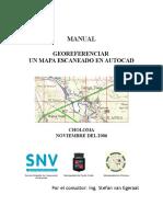 Manual Georeferenciar Un Mapa Escaneado en AutoCAD