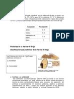 determinacion de Analisis de Gluten Humedo y Gluten Seco.
