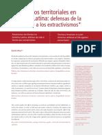 Feminismos territoriales en América Latina