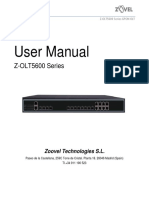 Z-OLT5600 Series - User Manual