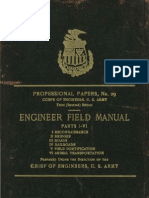 Army Engineers Field Manual (1909)