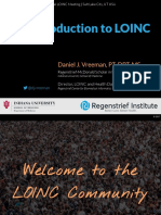 An Introduction to LOINC