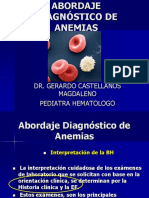 Abordaje Diagnóstico de Anemias