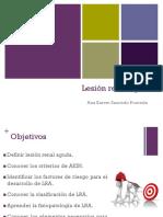Lesión renal aguda- Ana Saucedo Pruneda
