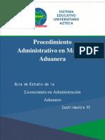 LAA%2c 6to%2c Procedimiento Administrativo en Materia Aduanera