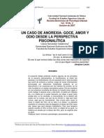 UN CASO DE ANOREXIA GOCE, AMOR Y ODIO DESDE LA PERSPECTIVA PSICOANALITICA.pdf