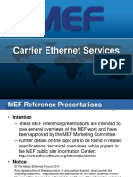 Carrier Ethernet Services Overview Reference Presentation R03 2011-11-15