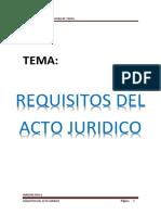 Acto Juridico Civil