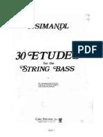 30Estudes for the string Bass - Franz Simandl01.pdf
