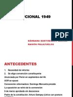 Reforma Constitucional peronismo