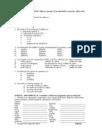 2012 - Quimica - Nomenclatura - Ejercicios