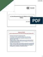La Carta Iberoamericana