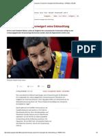 Venezuela_ Parlament Verweigert Die Entmachtung - SPIEGEL ONLINE