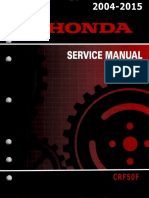Honda CRF50F Service Repair Manual 2004-2015