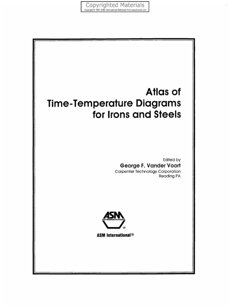 Vander voort george f eds atlas of time temperature diagrams for vander voort george f eds atlas of time temperature diagrams for nonferrous alloys metallurgy metallic elements ccuart Images