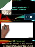 Psicología de La Personalidad y Antecedentes Históricos