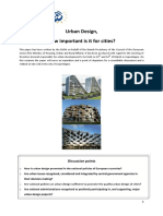 Topical Paper Urban Design
