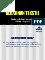 Presentasi Kerajinan Tekstil (1)