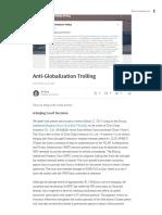 Anti GlobalizationTroll