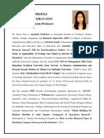 Profile Dr. Kiran 20.03.2017