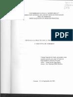 Tesis Critica a La Practica de La Medica Preventiva y Ejecutiva de Embargo