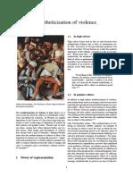 Aestheticization of Violence - Wikgb