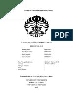 Laporan Praktikum Properti Material Div Done!!