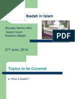 Ibadah in Islam r1