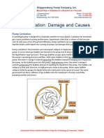 Pump Cavitation - Damages and Causes