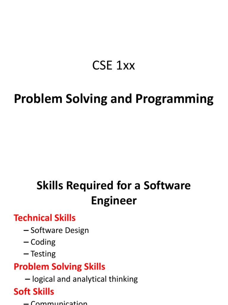 testing problem solving skills