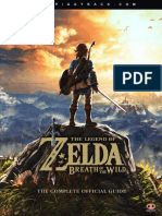 Zelda Breath of the Wild Official Guide