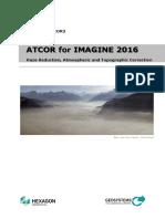 Atcor for Imagine 2016 Manual