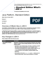 Java Platform, Standard Edition What's New in Oracle JDK 9, Release 9