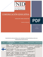 comunicacion y medios educativos
