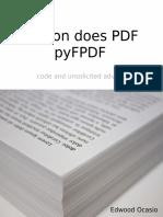 Pythondoespdfpyfpdf Sample