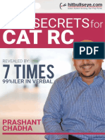 Top Secrets for CAT RC - Prashant Chadha.pdf
