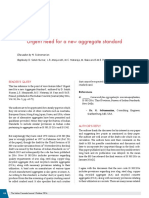 2016 - Urgent Need for a New Aggregate Standard