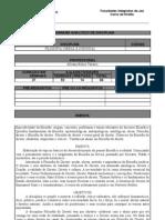 PROGRAMA ANALÍTICO DE DISCIPLINA
