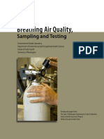 Breathing Air Quality Sampling Testing