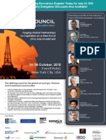 The Oil Council's Americas Assembly (Oct 26-28 Oct, 2010, New York)