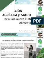 Producción Agrícola y Salud Hacia Una Nueva Cultura Alimentaria