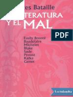 La Literatura y El Mal - Georges Bataille
