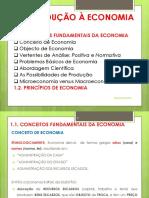 Introdução à Economia -Conceitos Básicos e Princípios de Economia