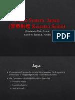 Comparative Police System - Japan
