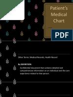 1. Patients Medical Chart