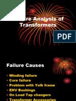 Failure Analysis of Transformers