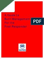 Burn Emergency Management for the First Responder-Layout V