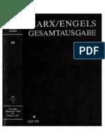 Megac2b2 IV 7 Karl Marx Friedrich Engels Exzerpte Und Notizen September 1849 Bis Februar 1851 Text